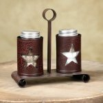 Star salt & pepper shakers