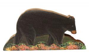 Black Bear Wood Shelf Sitters