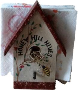 Napkin Holder Honey Bee