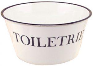 Enamel Toiletries Bowl