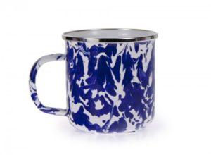 Colbalt swirl mug