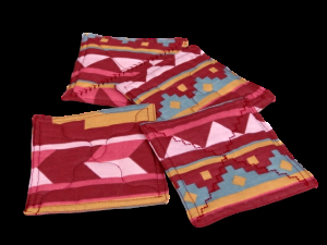 Native American pink coasters