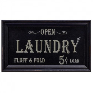 Vintage Laundry Advertising sign